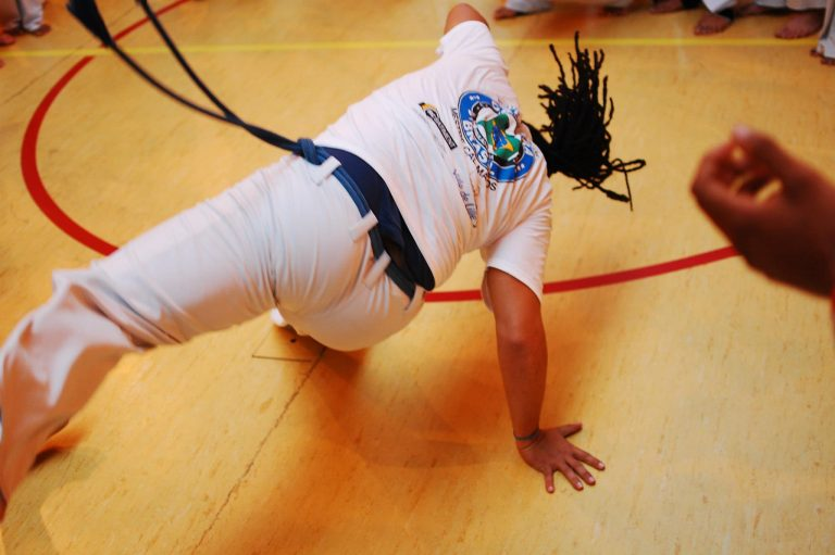 Capoeira on Curacao during COVID